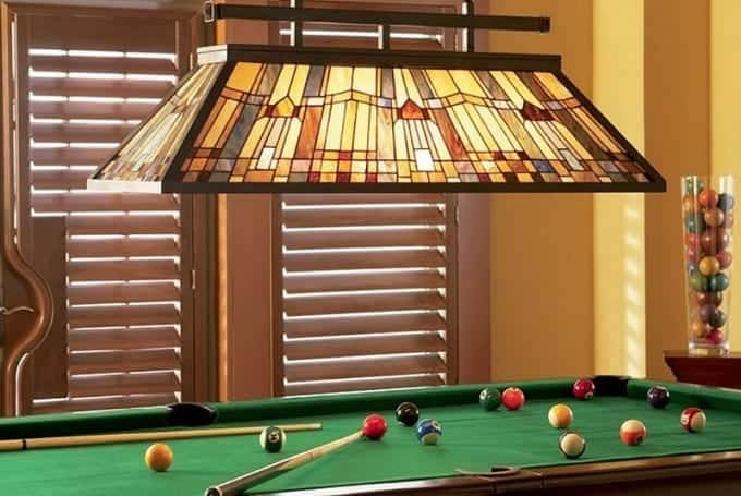 Lights Over Pool Table