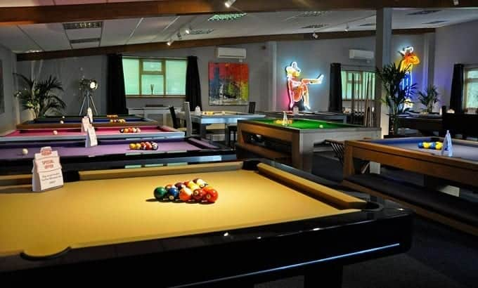 Different Pool Tables