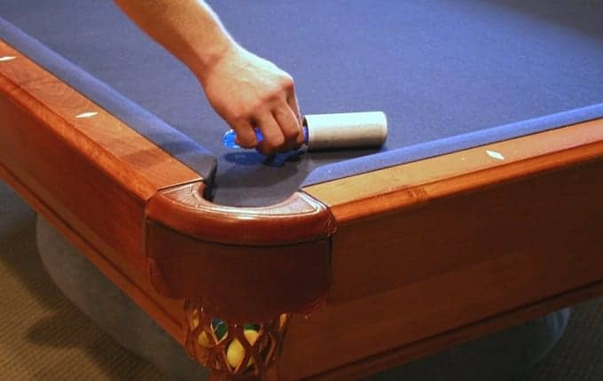 Cleaning Pool Table Felt