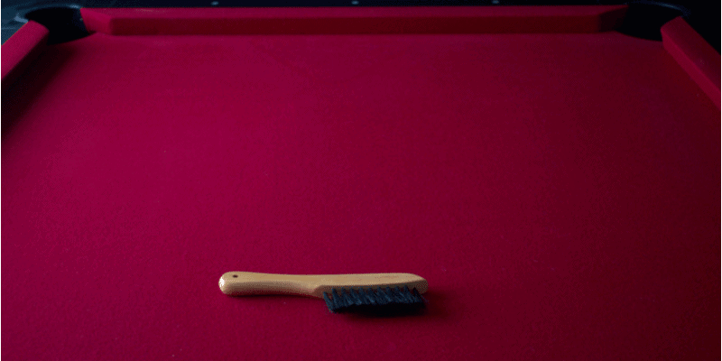 How to Clean Felt on a Pool Table