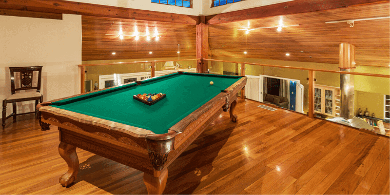 What's the Cost of Leveling a Pool Table