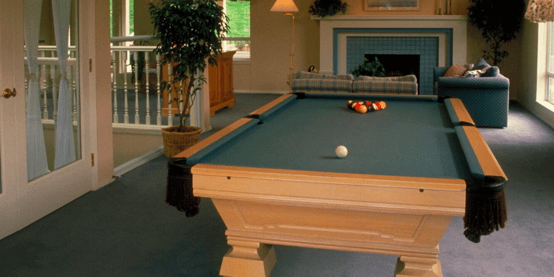 Can You Put a Pool Table on a Carpet