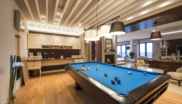 Can You Put A Pool Table On Vinyl Plank Flooring