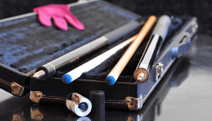 How to Clean a Pool Cue Shaft